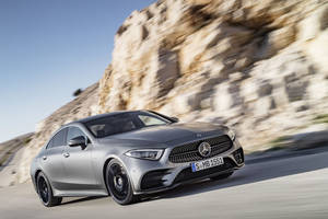 Los Angeles : nouvelle Mercedes CLS