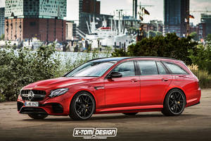 Mercedes-AMG E63 break par X-Tomi Design