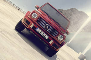 Le futur classe G de Mercedes
