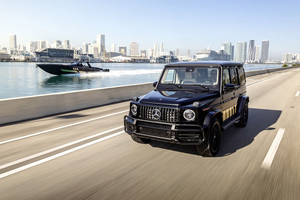 One-off Mercedes-AMG G 63 Cigarette Edition