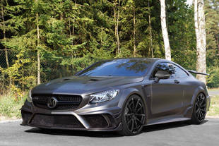 Mercedes-AMG S63 Coupé Black Edition par Mansory