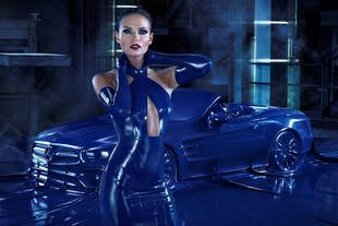 Spot fashion pour la Mercedes SL