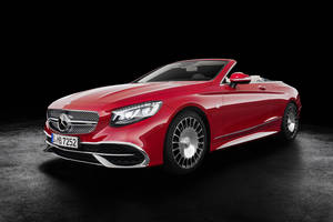 Nouvelle Mercedes-Maybach S 650 Cabriolet