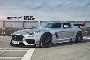 Mercedes SLS AMG par Prior Design