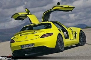 Une Mercedes SLS AMG E-Cell Roadster ?