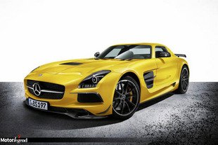 Officiel : Mercedes SLS AMG Black Series