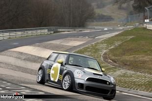La Mini E au Nürburgring