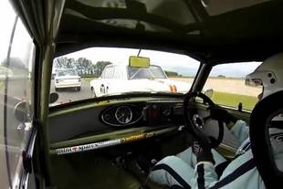 L'art de piloter une Mini à Goodwood