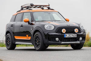 MINI Countryman powered by X-raid : prêt pour l'aventure