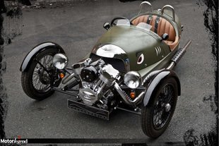 Morgan Three Wheeler, contact
