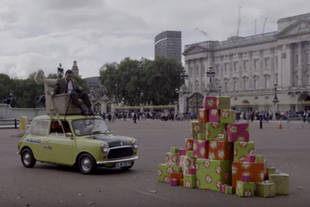 Mr Bean fête ses 25 ans à Buckingham