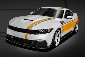 Mustang Saleen Championship Commemorative Edition