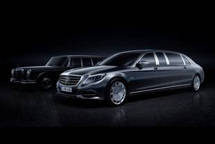 Nouvelle Mercedes-Maybach Pullman