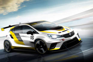Opel dévoile sa nouvelle Astra TCR