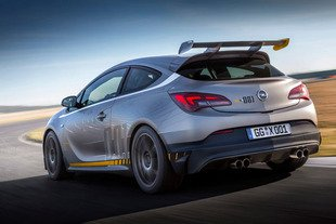 L'Opel Astra OPC Extreme produite