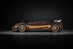 One-off Pagani Huayra Roadster BC Supernova