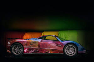 Pagani Zonda S Art Car by Sharbatly