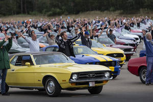 Parade record pour la Ford Mustang