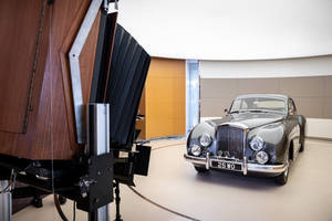 Photoshoot inédit pour Bentley