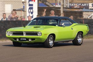 Pas de Plymouth Barracuda