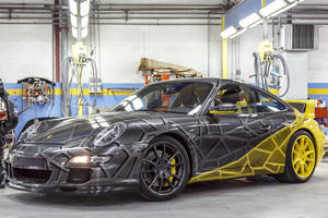 Art Car : Porsche 911 by Orlinski