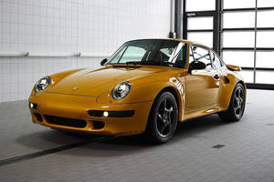 Porsche 911 Turbo Project Gold