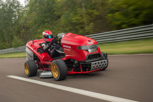 Record : Honda Mean Mower MkII
