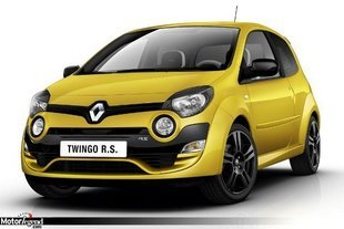 Francfort : Renault Twingo RS 2012