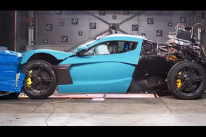Retour aux crash-tests pour la Rimac C-Two