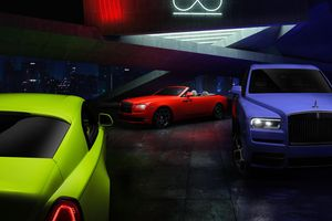 Rolls-Royce Black Badge Neon Nights