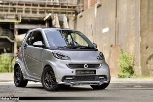 Smart For Two Brabus : 10ème anniversaire