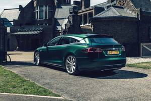 Tesla Model S Shooting Brake par RemetzCar