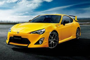 Toyota GT86 Yellow Limited : pour le Japon