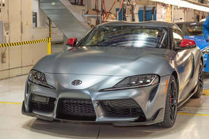 Toyota Supra : début de production