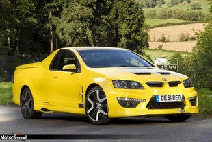 Le Vauxhall Maloo signe un record