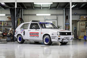 La VW Golf Pikes Peak de 1987 restaurée