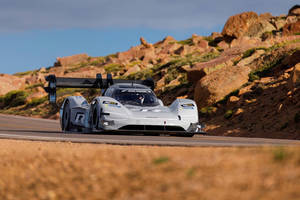 Le VW ID.R Pikes Peak sur le Ring