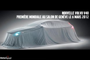 Actualit� Volvo V40 : on tease