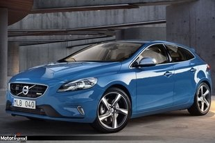 Volvo V40 R-design : look rebelle