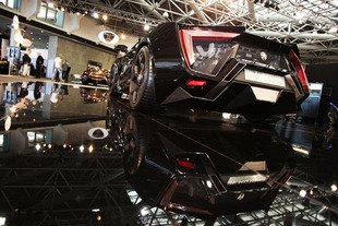 Top Marques Monaco 2014 : W Motors Lykan Hypersport