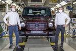 Le Mercedes-Benz Classe G passe le cap des 400 000 exemplaires produits