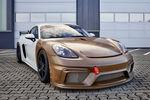 Porsche conçoit une carrosserie en matériau composite à base de fibres naturelles