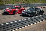 Livrées spéciales pour les Porsche officielles au Mans