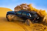 Le Rolls-Royce Cullinan en démonstration dans le désert