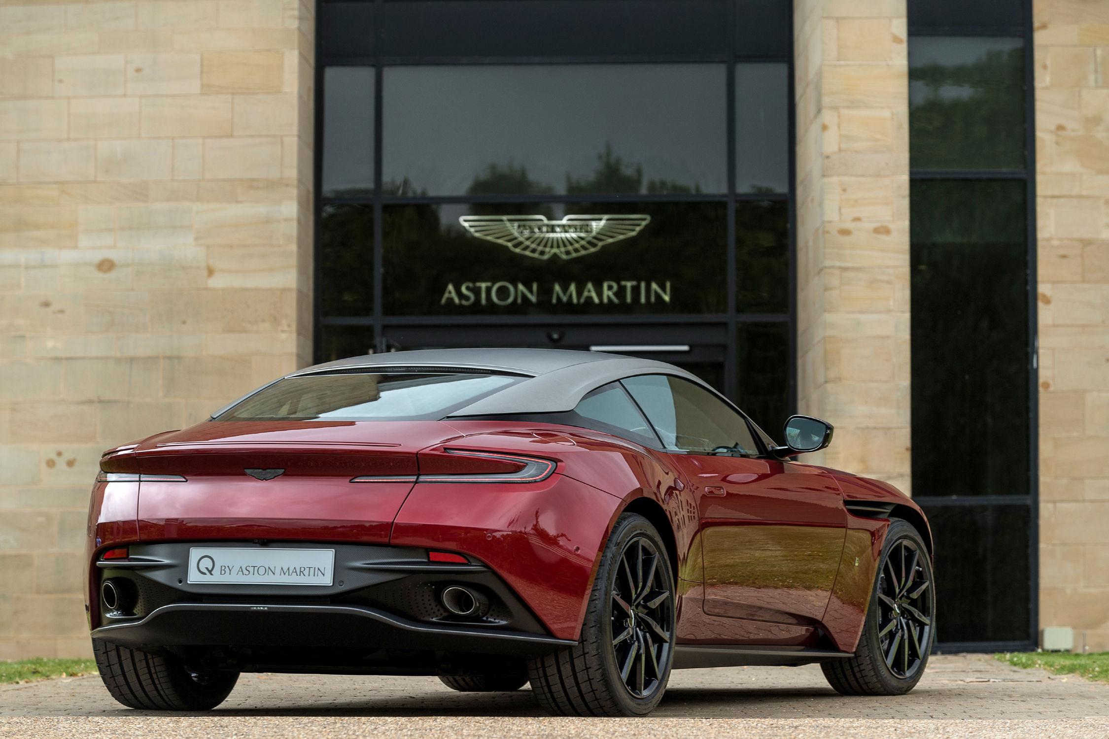 La première Aston électrique produite à Gaydon en 2019 — Aston Martin RapidE