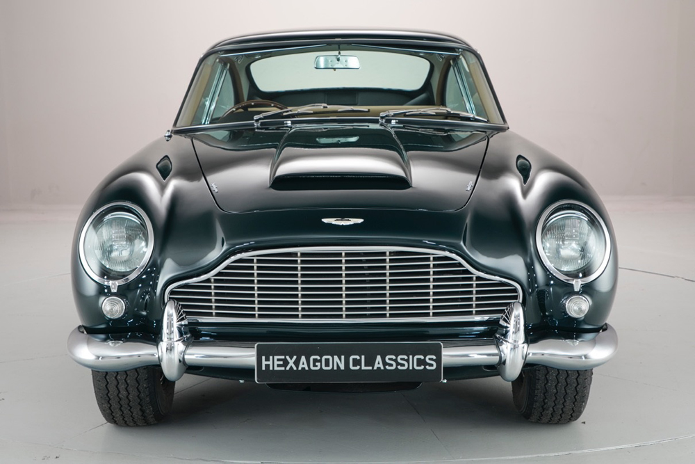 l 39 aston martin db5 de sadruddin aga khan est vendre actualit automobile motorlegend. Black Bedroom Furniture Sets. Home Design Ideas