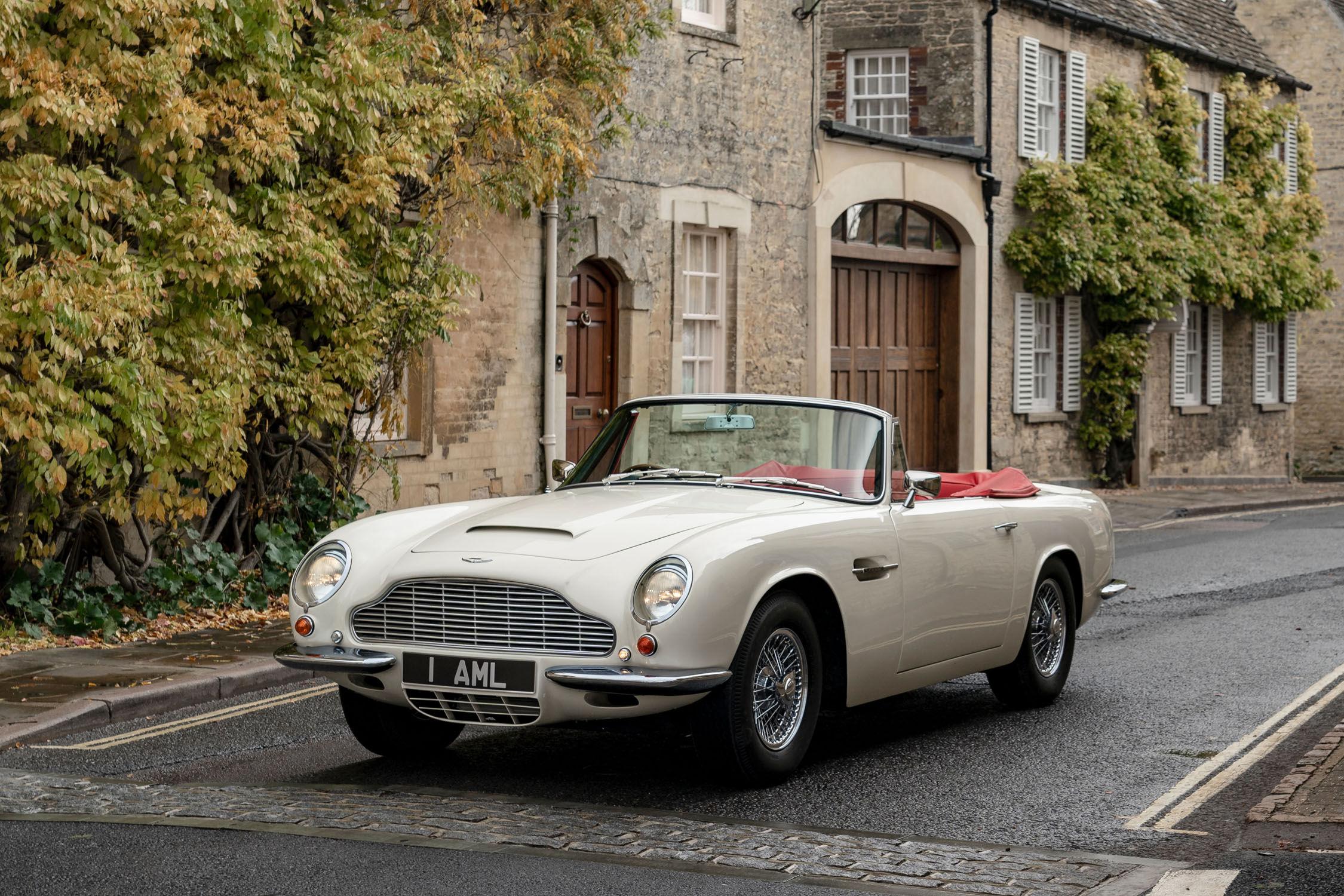Aston Martin propose une conversion électrique de ses voitures anciennes
