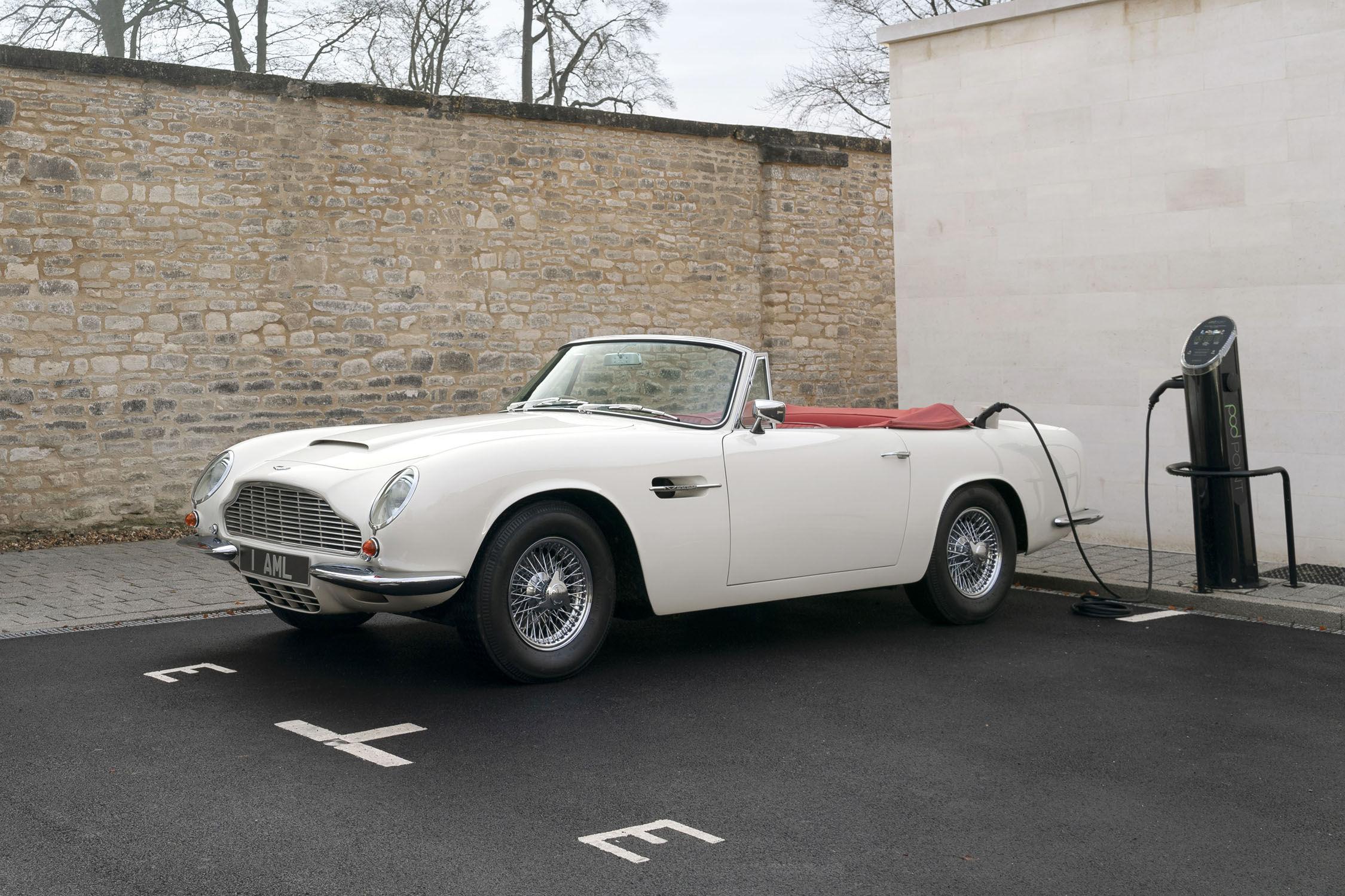 Aston Martin crée la motorisation électrique amovible