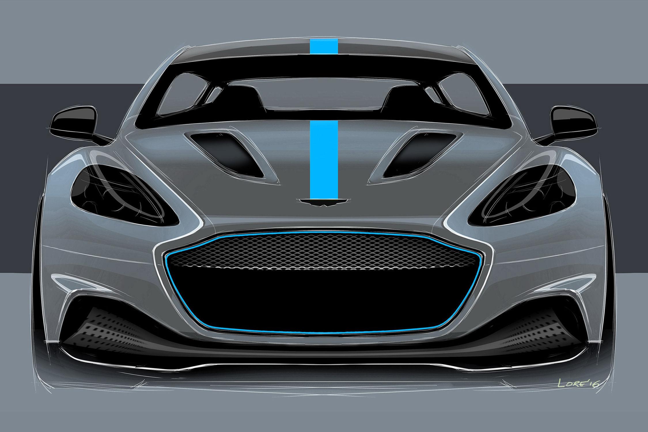 Aston Martin développera la RapidE avec Williams