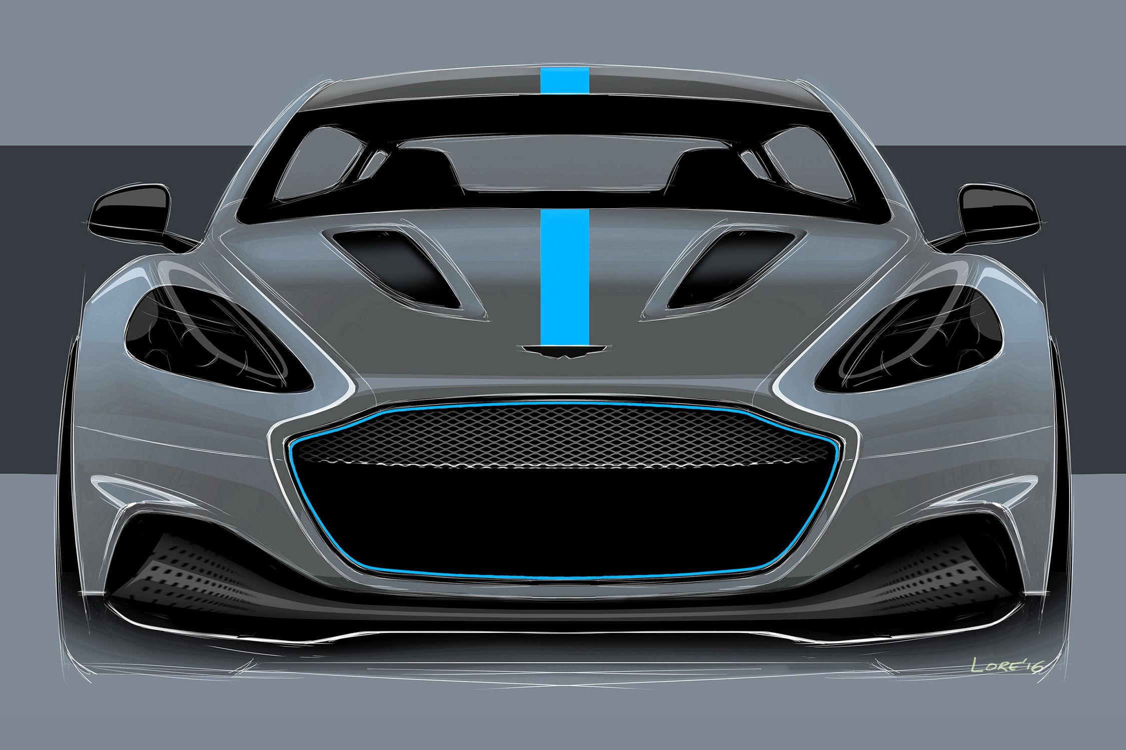 Le prochain James Bond en mode électrique — Aston Martin